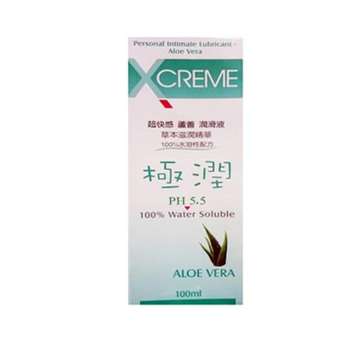 《X-creme》超快感蘆薈潤滑液(100ml/盒)