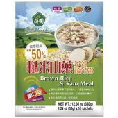 《薌園》糙米山藥多穀蔬菜粥(鹹口味)(35g*10包)
