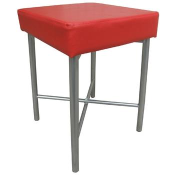 《頂堅》[厚型沙發椅座]7.0公分(厚)泡棉椅座-休閒椅/化妝椅-三色(紅色椅面)