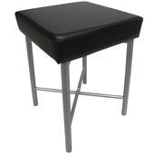 《頂堅》[厚型沙發椅座]7.0公分(厚)泡棉椅座-休閒椅/化妝椅(三色)-2件/組(黑色椅面)