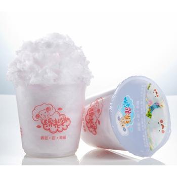 綿花堂 杯子棉花糖-芋香口味(23g/杯,6杯/一盒)