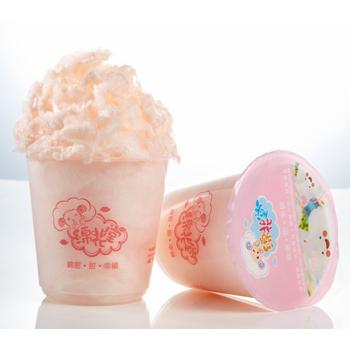 綿花堂 杯子棉花糖-梅子口味(23g/杯,6杯/一盒)