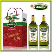 《Olitalia奧利塔》純橄欖油(1000ml*2罐/組)