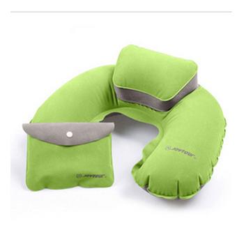 Joytour 植絨子母充氣枕 兩色(綠色)