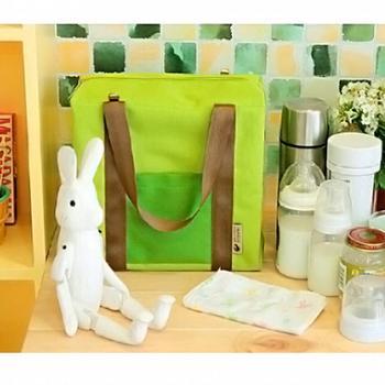 韓版 休閒旅遊防水保溫保冰袋 可手提、肩背、斜背(綠色)