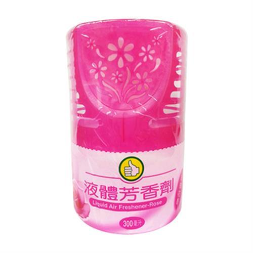 FP 液體芳香劑-玫瑰花香(300cc/罐)