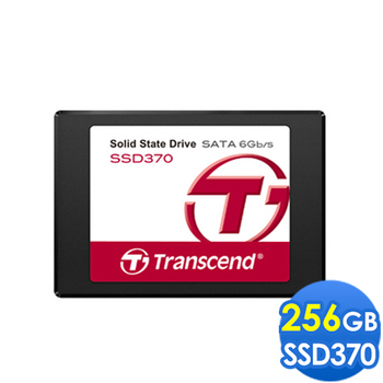 Transcend 創見 SSD370 256G 2.5吋 SATA3 固態硬碟
