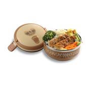《鍋寶》隔熱餐盒(單層)(SSB-701-3S)