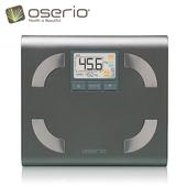 《oserio》多功能體脂計 FFP-330(鑽石銀)買就送手環傳輸線 (ios/Android擇一)(市價399)