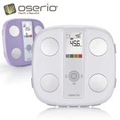 《oserio》多功能中文體脂計 FWP-510(高雅銀)買就送手環傳輸線 (ios/Android擇一)(市價399)