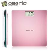 《oserio》電子體重計/秤/電子秤 BAG-280P買就送手環傳輸線 (ios/Android擇一)(市價399)