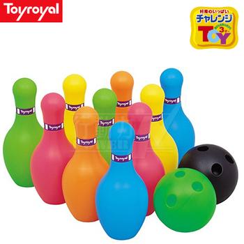日本《樂雅 Toyroyal》 保齡球玩具組