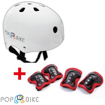 BabyTiger虎兒寶 POPBIKE 兒童充氣輪胎滑步車--安全護具組(安全護具組)