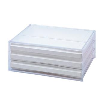★結帳現折★SONA PLUS 三層橫式桌上資料文件櫃