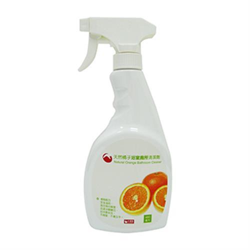 RT 橘子浴室廁所清潔劑(480毫升/瓶)
