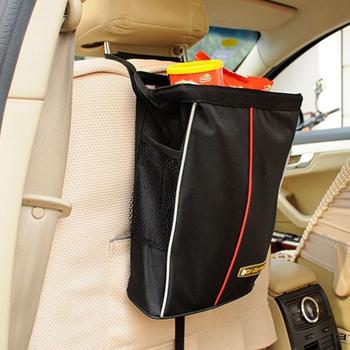 《Bunny》可摺疊汽車防水零食袋置物袋/垃圾袋/收納袋(一入)