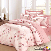 《Arnold Palmer雨傘牌》花與夢境-60紗精梳純棉床罩雙人加大七件組