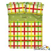 《Arnold Palmer雨傘牌》田園交響曲-40紗精梳純棉床包被套雙人加大四件組