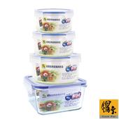 《鍋寶》玻璃保鮮盒美好收納4件組(EO-BVC80354308301102)