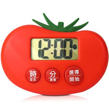 《CATIGA》歡樂果漾-大字幕電子計時器(番茄紅)