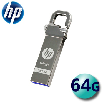 hp 惠普 X750W USB3.0 創意掛勾精品碟 USB3.0 隨身碟 64G