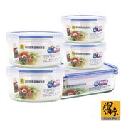 《鍋寶》玻璃保鮮盒實用便利5件組(EO-BVC8035Z830Z901)