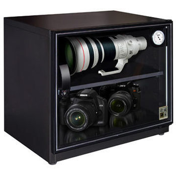 收藏家 81公升可控濕全功能電子防潮箱-攝影達人專用防潮箱(AW-80)