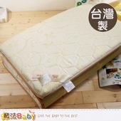 《魔法Baby》台灣製單人3x6尺竹炭大青健康床墊 u2503