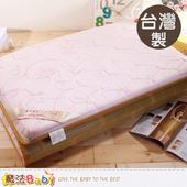 《魔法Baby》台灣製單人3x6尺竹炭大青健康床墊 u2501