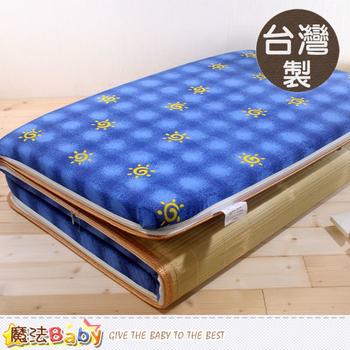 魔法Baby 台灣製單人3x6尺大青透氣床墊 ~u2204