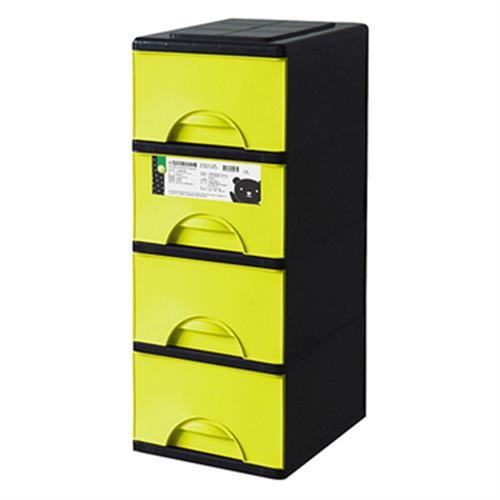 FP 小型四層收納櫃(綠)