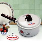 《美心 Masions》珍珠鍋系列-日式湯鍋 18CM(珍珠銀)(18cm)