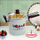 《美心 Masions》珍珠鍋系列-多功能料理鍋 18CM(珍珠銀)(18cm)