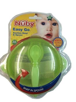 Nuby 學習吸盤碗(附匙)