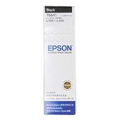 《EPSON》T6641/T664100原廠墨水(黑x2瓶) 適用L300/L350/L355/L550(黑色2瓶1組)