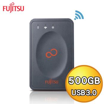 Fujitsu 富士通 500GB USB3.0 2.5吋 WIFI 無線外接硬碟