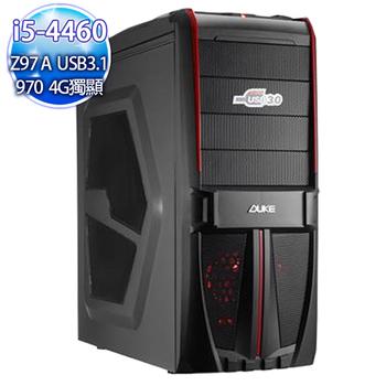 華碩平台 【曲惡臨界】i5四核 Z97-AUSB3.1最新主板 超大急速SSD256G 16G超競速亂舞機