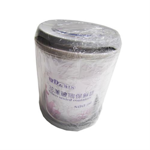 Dr.RIN花漾玻璃保鮮罐800ML