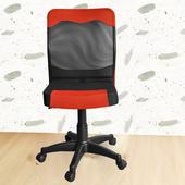 《凱堡》Kars索娜無扶手透氣網背辦公椅/電腦椅(藍)