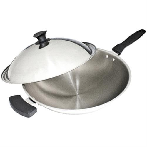 《清水》鋼鋼好原味炒鍋(38CM)
