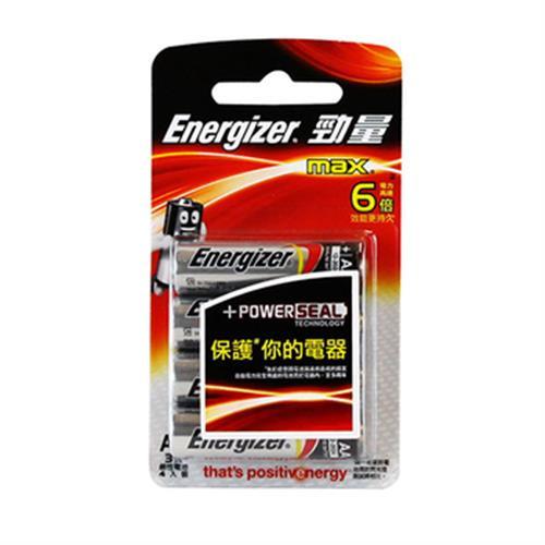 勁量鹼性電池-3號4入