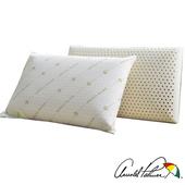 《Arnold Palmer雨傘牌》透氣立體結構棉網乳膠枕1入