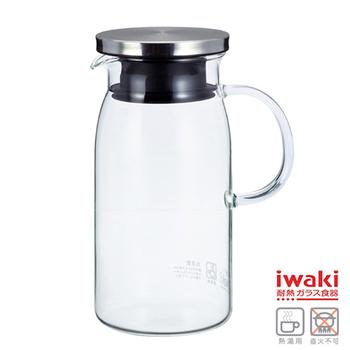 ★結帳現折★iwaki 耐熱玻璃水壺 600ml(K293-SV)