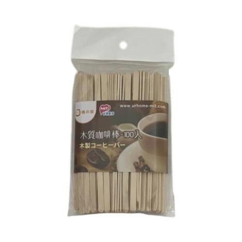 橘之屋 木質咖啡棒-100入(長度14CM 寬0.6CM x100支入)