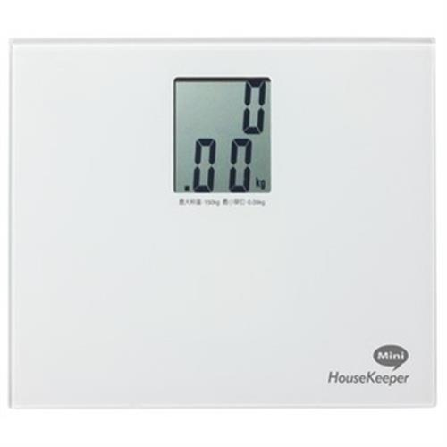 HouseKeeper迷你電子體重計 HKES-0180BG/P/W/B(顏色隨機)