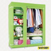 《VICTORY》115x45x165cm彩豔防塵衣櫥(TB-1606)