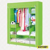 《VICTORY》112x45x165cm彩豔防塵衣櫥(TB-1409S)