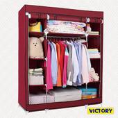 《VICTORY》140x50x175cm彩豔防塵衣櫥(TB-1608)