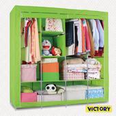 《VICTORY》190x50x188cm彩豔防塵衣櫥(TB-C003)