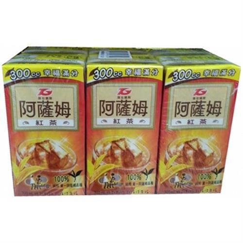 阿薩姆 紅茶(鋁箔包300ml*6瓶)